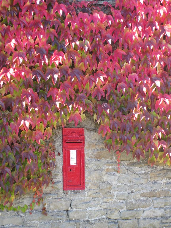 A V.R. postbox in Thwaite #Autumn #Swaledale #YorkshireDales @dalesarch<br>http://pic.twitter.com/H0CPSI1vEu