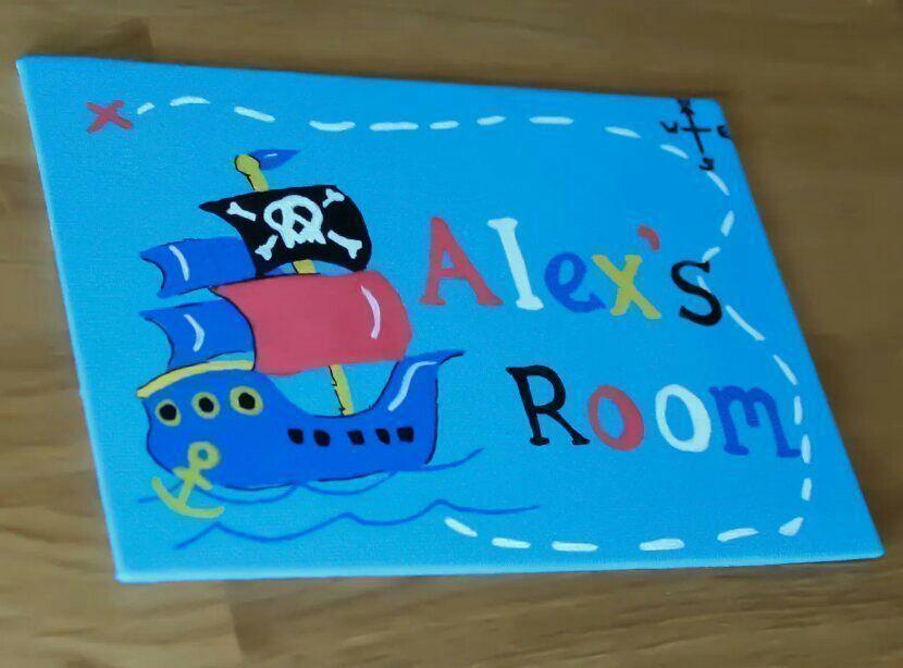 Boys bedroom door plaque #pirate #ship #etsymntt #craftshout #craftbuzz #etsyrt #personalised #gifts  https:// buff.ly/2yaohMG  &nbsp;  <br>http://pic.twitter.com/JfXsiIccVN