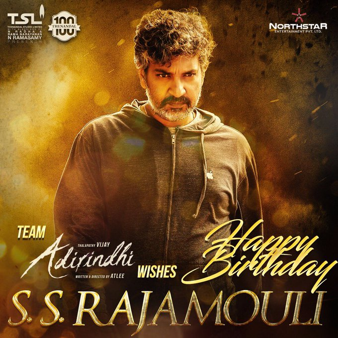 @onlynikil @actorvijay @ThenandalFilms Wish u many more happy returns of day @ssrajamouli sir https://t.co/4bJnZzTfia