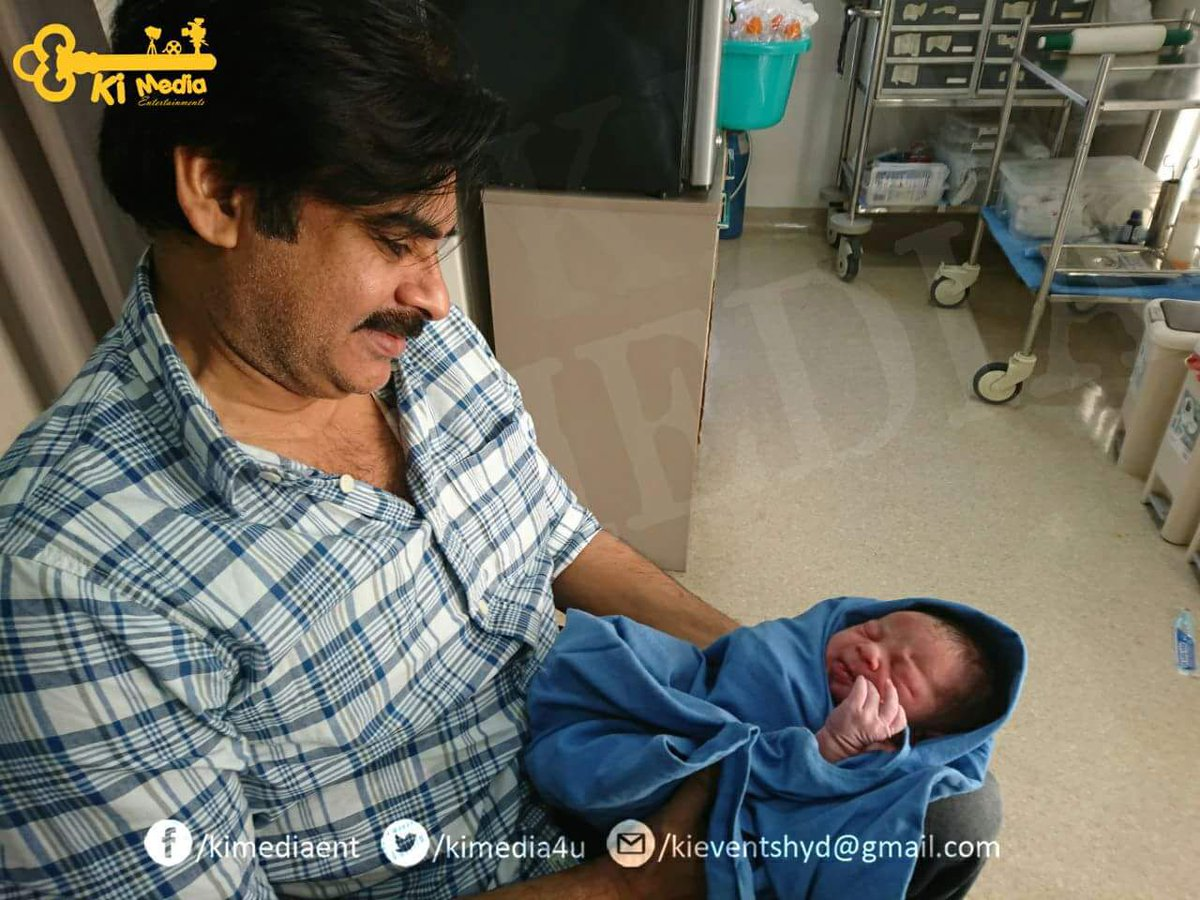 Pawan Kalyan becomes a Father of a Baby boy !!!