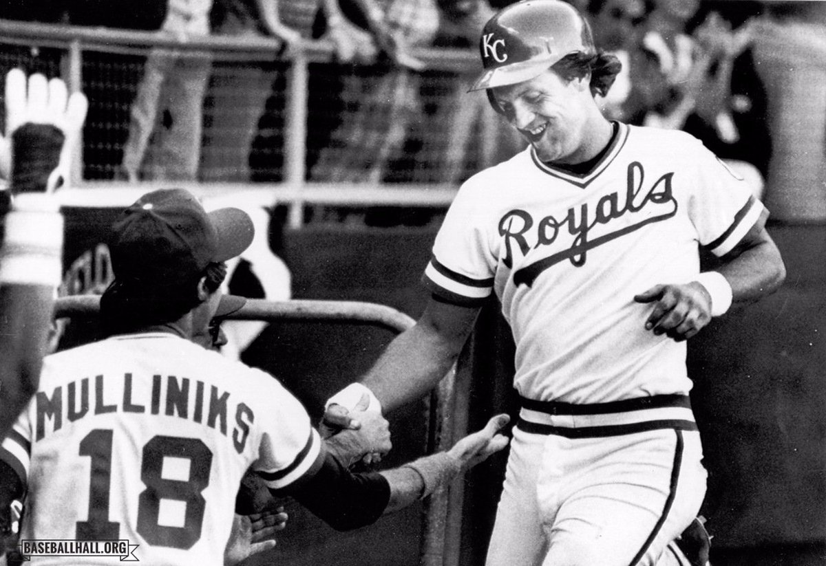 Baseball Hall On Twitter OTD In 1980 George Bretts Three Run HR The Seventh Inning Of Game 3 Powers Royals Past Yankees ALCS