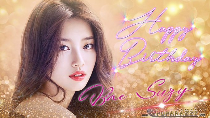 Happy Birthday Bae Suzy ^_^ Greet her below <3