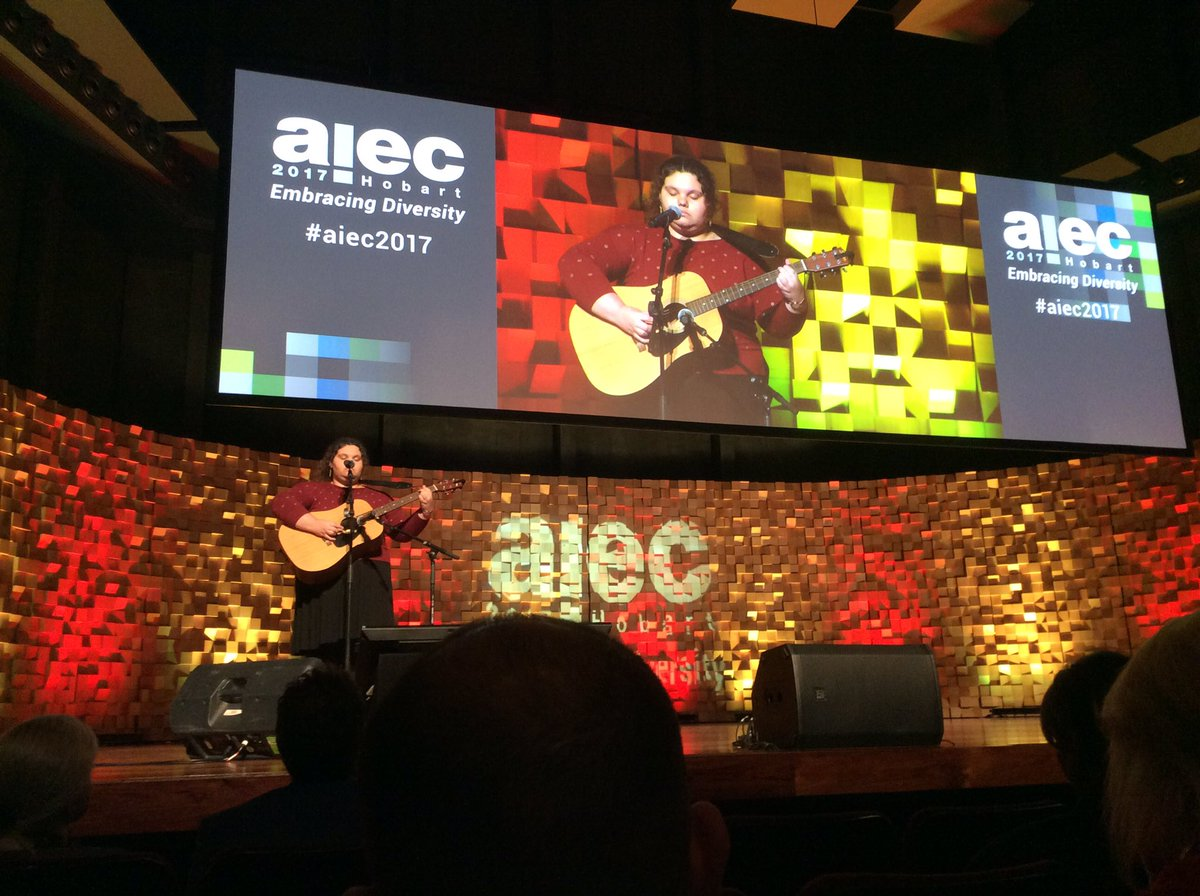 #eaie2017 ended with a song. #aiec2017 starts with one<br>http://pic.twitter.com/chAnnHhDU4