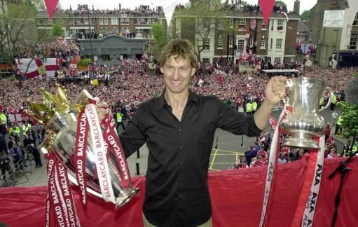 669 apps  48 goals 4 league titles 3 FA Cups 1 club man  Happy birthday to Mr Arsenal, Tony Adams.