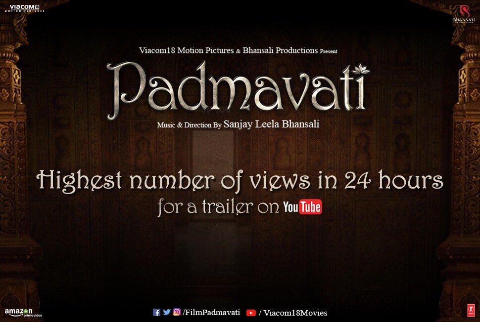 Padmavati trailer looks huge but below expectations