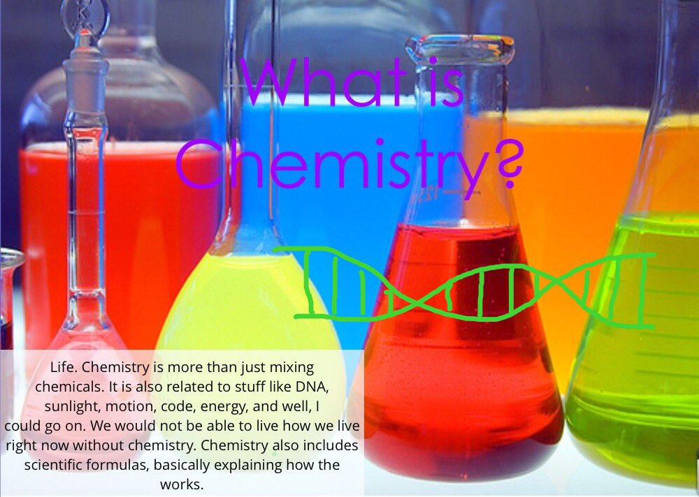 what is life without chemistry