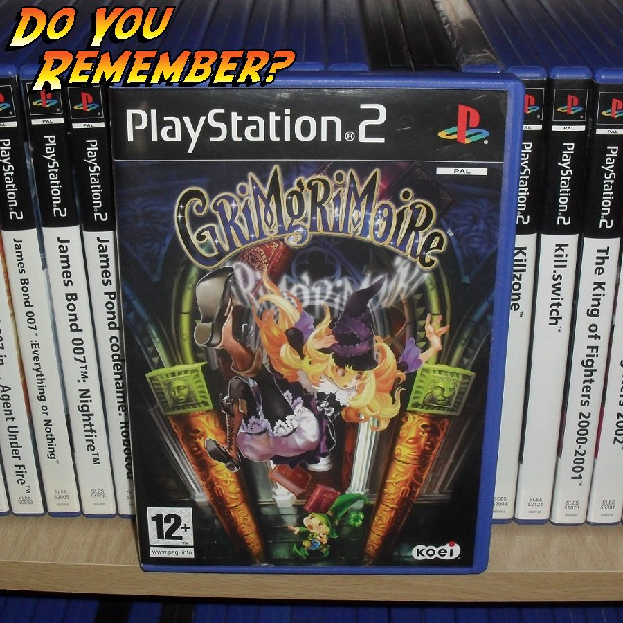 PS2UESDAY: GRIMGRIMOIRE In 2007 a young magician, Lillet Blan, traveled back in time to prevent a tragedy #retrogaming #playstation #gaming<br>http://pic.twitter.com/BlHmMlalmX