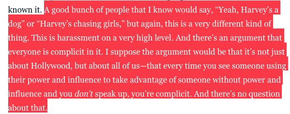 George Clooney is brutal in this interview with @MarlowNYC about Harvey Weinstein: https://t.co/Fwi7XwYABv https://t.co/riw4CIFtSN