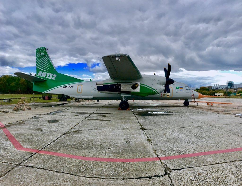 وقف العمل في المشروع المشترك بين أوكرانيا والسعودية لتطوير وإنتاج طائرة An-132 DLxBAnSXkAAUU-R