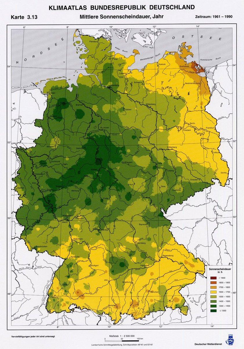 Axel Bojanowski On Twitter Dunkeldeutschland Liegt In Der Mitte