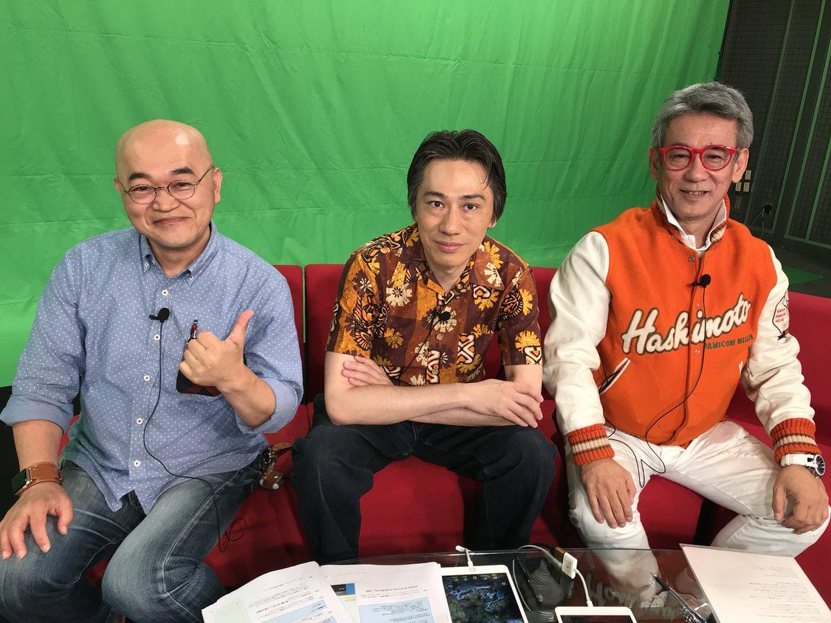 31年目の3ショット! 左から、私、毛利名人、橋本名人です。 https://t.co/Ideor30A5f