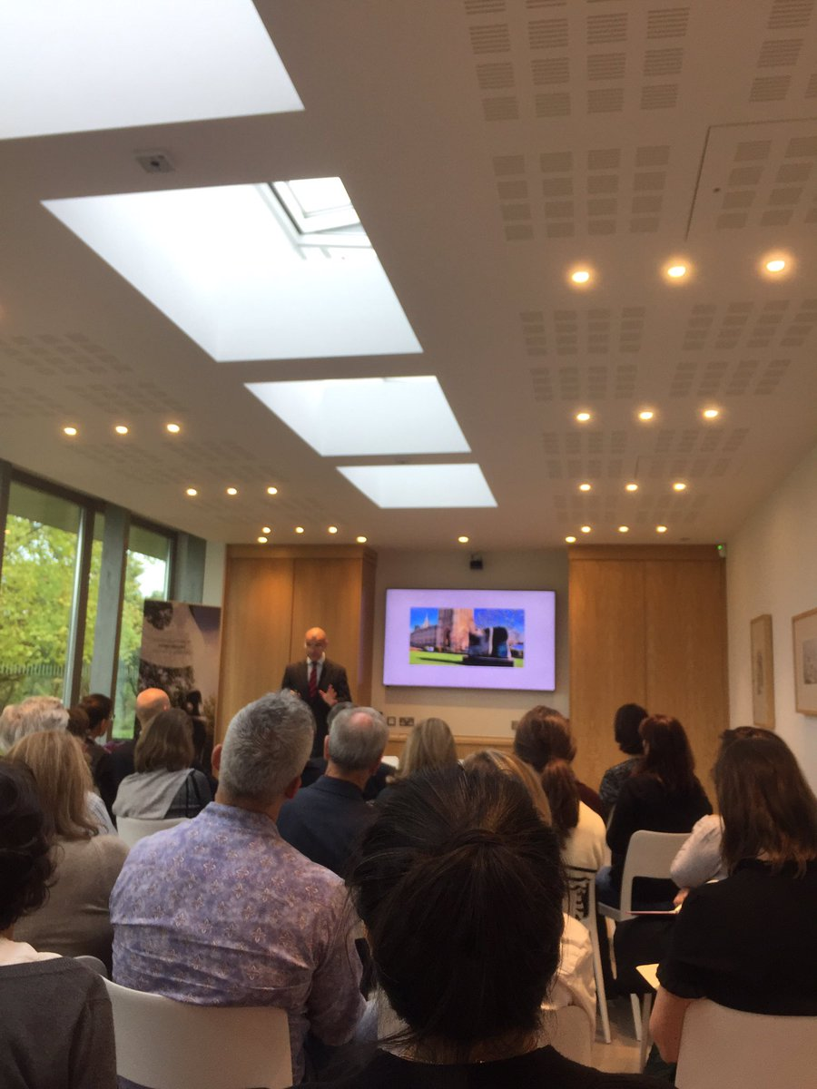 &quot;You find Henry Moore&#39;s work in more than fifty cities in Europe&quot;: Godfrey Worsedale, Head of #henrymoore foundation <br>http://pic.twitter.com/HBTEiTkvc2