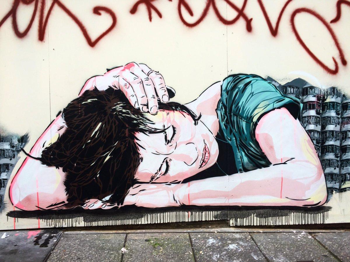 What about taking a nap  by @janaundjs #janaundjs #nap #siesta #sieste  #streetart #urbanart #graff #wall #graffart #spray #bombing #paris<br>http://pic.twitter.com/IwEWZEdYFq