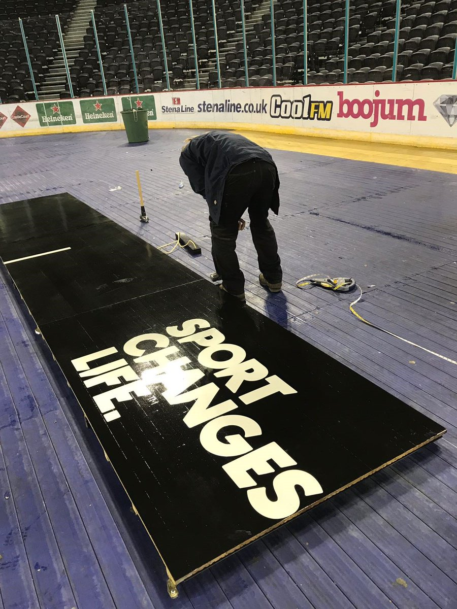 Exceptional SSE ARENA BELFAST, Sport Changes Life, Horner Flooring And 4 Others