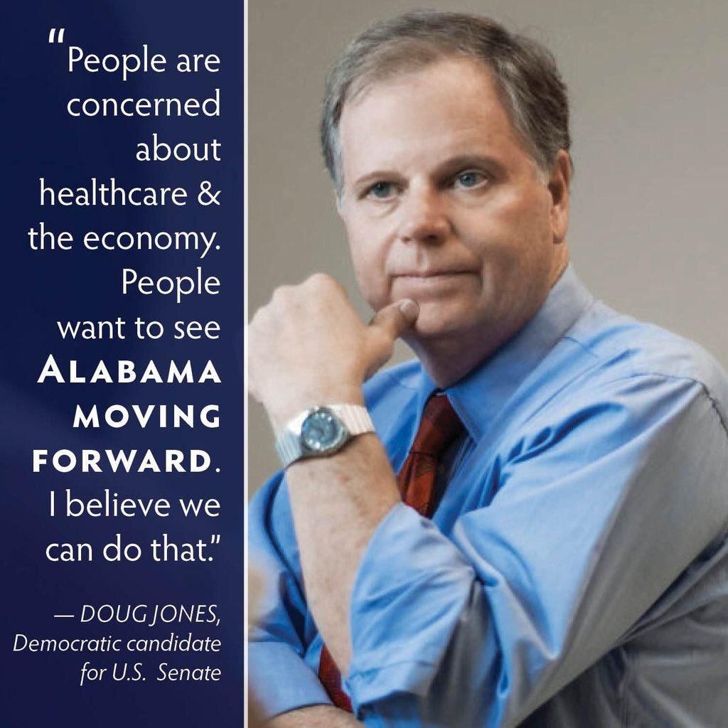 #VoteDougDec12 #SpecialElection Support Doug Jones US Senate #Alabama Progress for Alabama #FlipItBlue<br>http://pic.twitter.com/2dYXmoeUUh