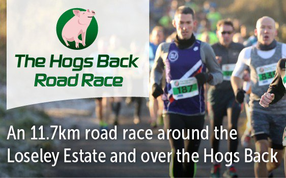 RT @HogsBackBrewery 2 months til #hogsbackroadrace, 11.7km at Loseley, sign up now! You could win Hogs Back beer on the day https://t.co/zydaGdFF8y @allabouttri