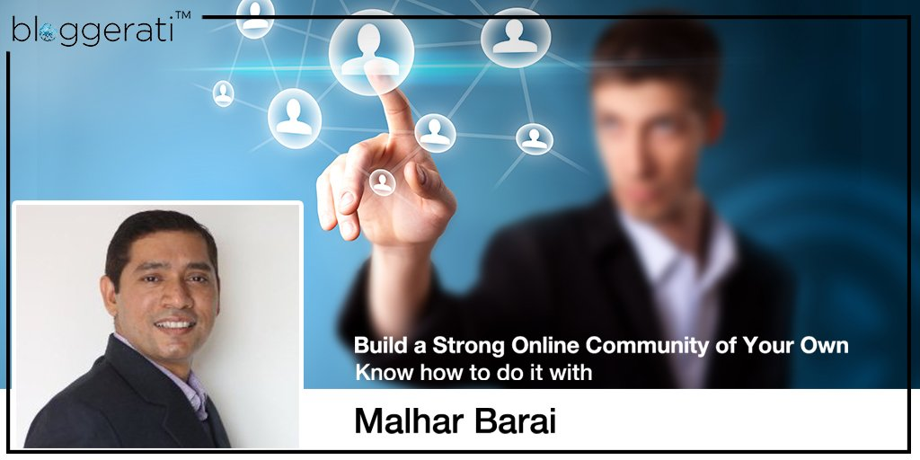Co-founder of '#SEOTalk&#39;Twitter Chat @MalharBarai shares tips on building a strong online community Oct 12,3pm Click  http:// goo.gl/L1gWKz  &nbsp;  <br>http://pic.twitter.com/JbU92v5NZb