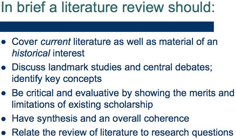 literature review on twitter