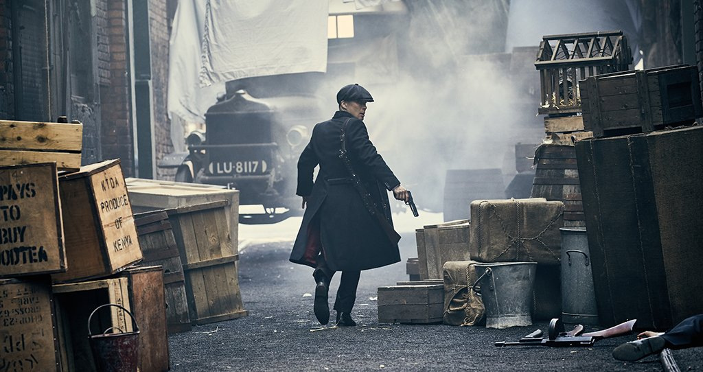 Three tantalising shots from #PeakyBlinders season four.  Coming soon to @BBCTwo.   📷@RobertViglasky