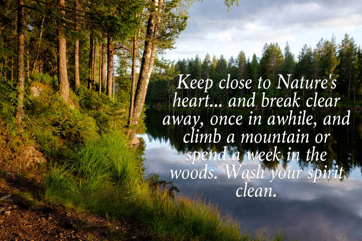 Can Spending Time In Nature Improve >> The Great Outdoors On Twitter For Worldmentalhealthday Here S A