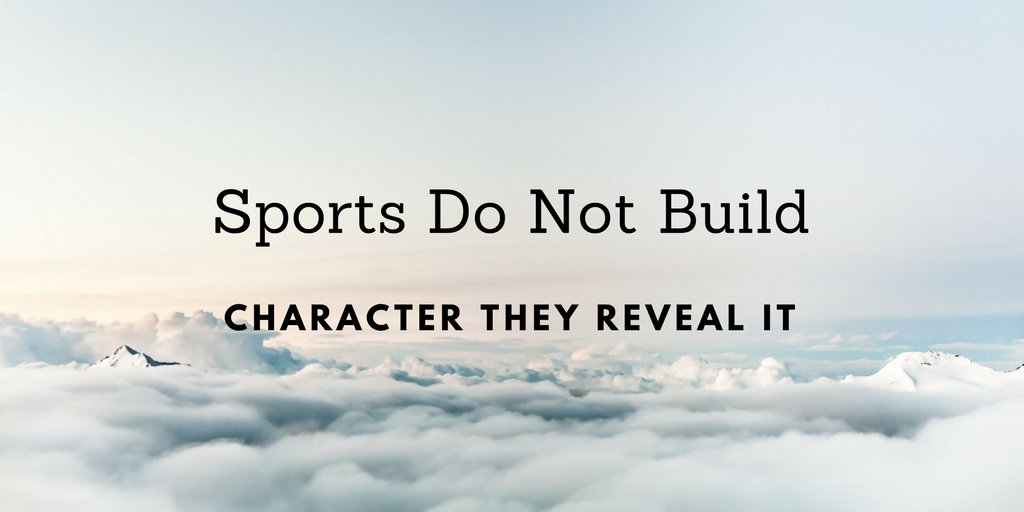 sports do not build character they reveal it Find this pin and more on sports do not build character they reveal it by kristin coorssen  one of the most unique hammocks in existence the brch is a super light weight camping hammock tent that is weather resistant, and mosquito free.