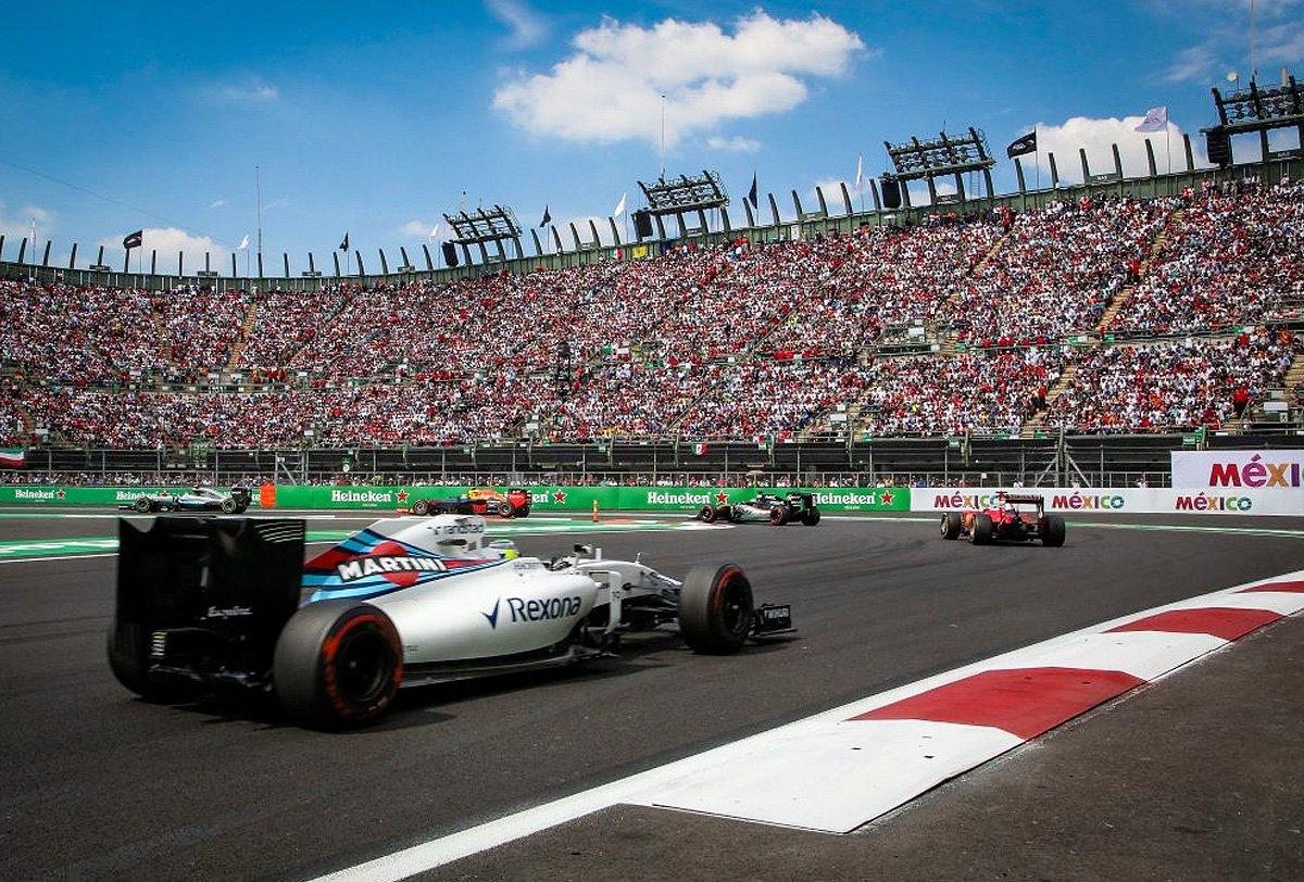 Ley Seca en CDMX por GP de México