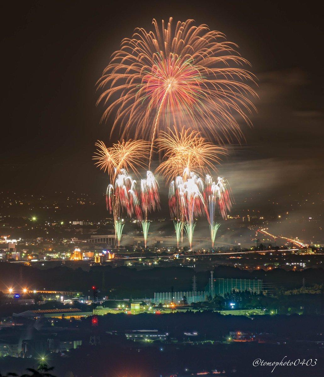 茨城県は5年連続で魅力度ランキング最下位になったらしいですが土曜日の土浦市は魅力度世界一でした(*・ω・)ノ #土浦全国花火競技大会 #魅力度ランキング #茨城県