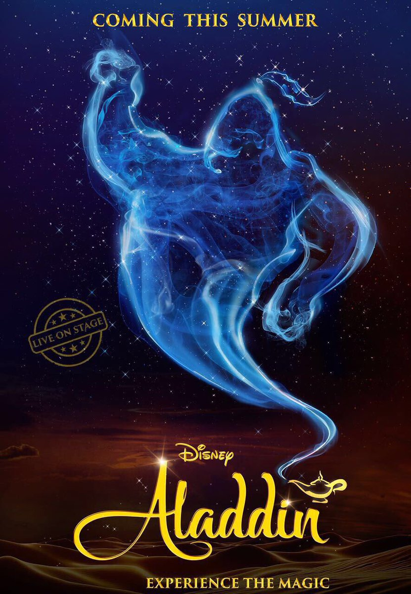 Disney's #Aladdin, the Broadway style musical, to go live on Indian st...