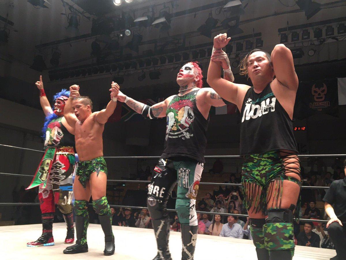 """AAA: Resultados """"Lucha Libre World Cup 2017"""" - Pagano y Psycho Clown son los vencedores 2"""