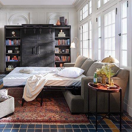 Terrific Arhaus On Twitter The Dune Sleeper Sofaperfect For Guests Customarchery Wood Chair Design Ideas Customarcherynet