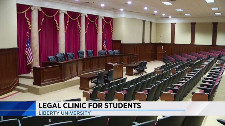 WSLS reports on our new law clinic partnership with Liberty University. https://t.co/4Zkp6fyoui