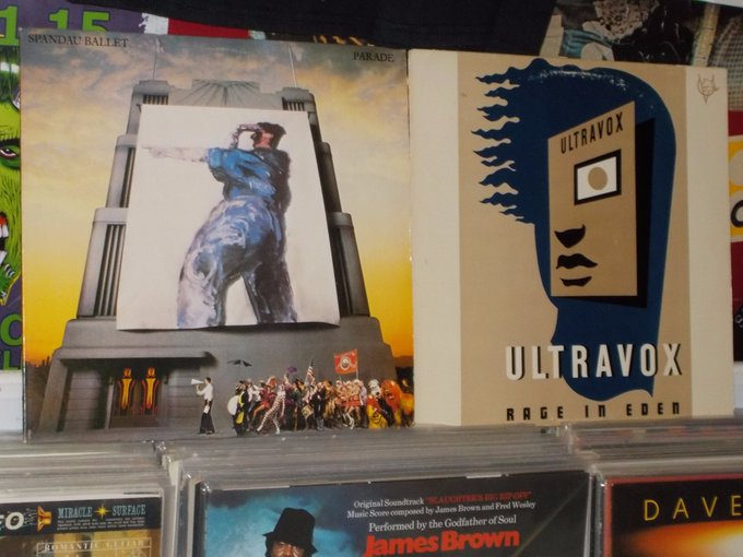 Happy Birthday to Martin Kemp of Spandau & Midge Ure of Ultravox