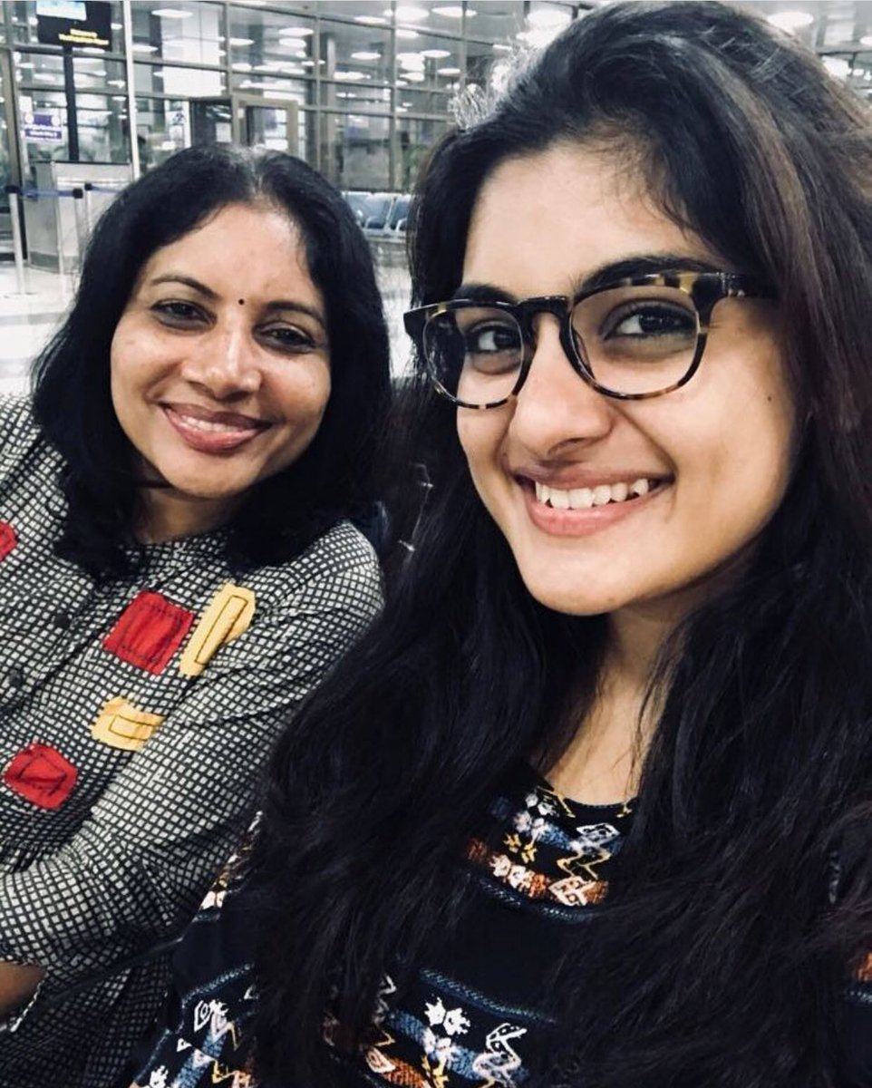 @i_nivethathomas with her #Mom , posted by her Mother in #Instagram<br>http://pic.twitter.com/7NiWguBSax