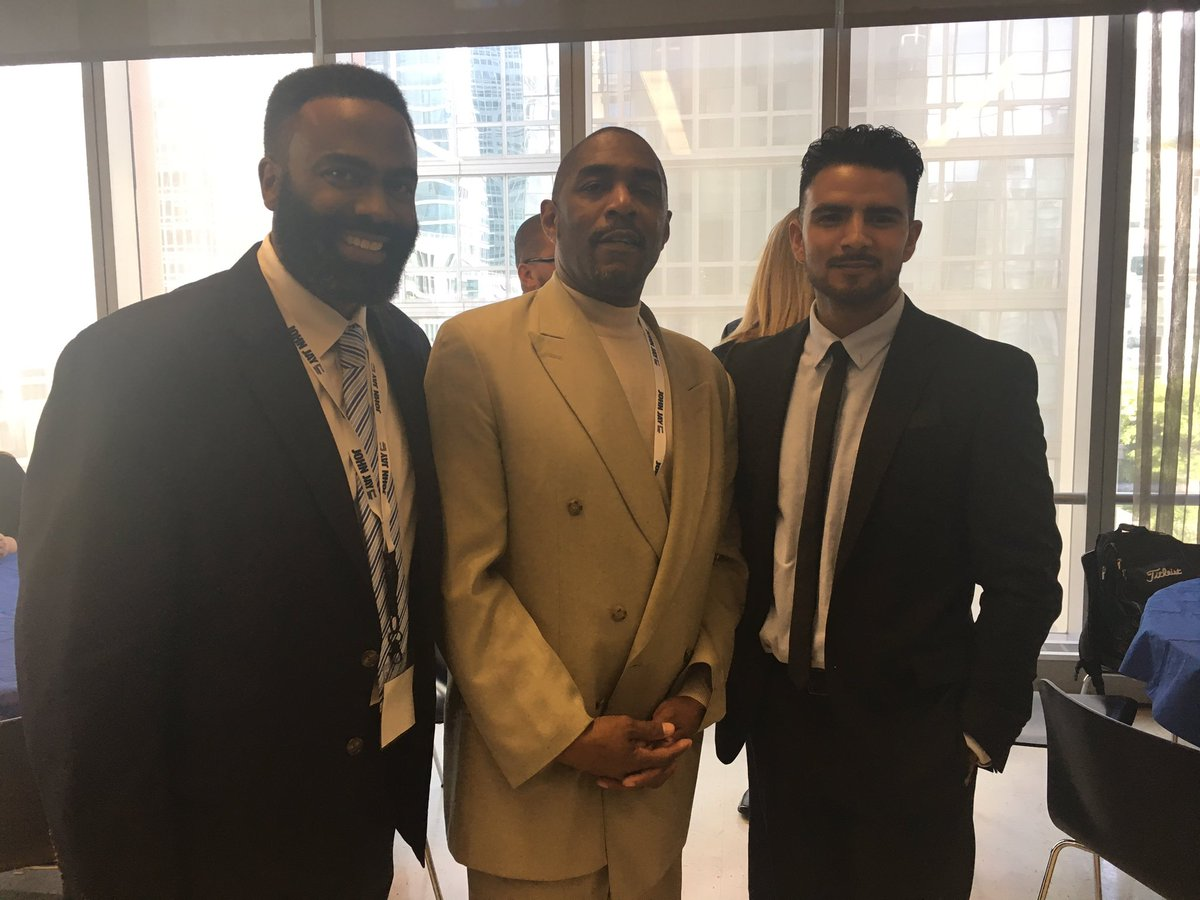 Daryl Atkinson &amp; Dr. Divine Pryor joined by a new #CJ Returning Citizen from #LA Louie Chagolla #smartoncrime #Fall2017 @SmartOnCrimeUS<br>http://pic.twitter.com/szDPvdLcDS