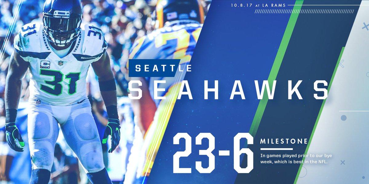 Seattle Seahawks On Twitter Before The Bye Week We Take