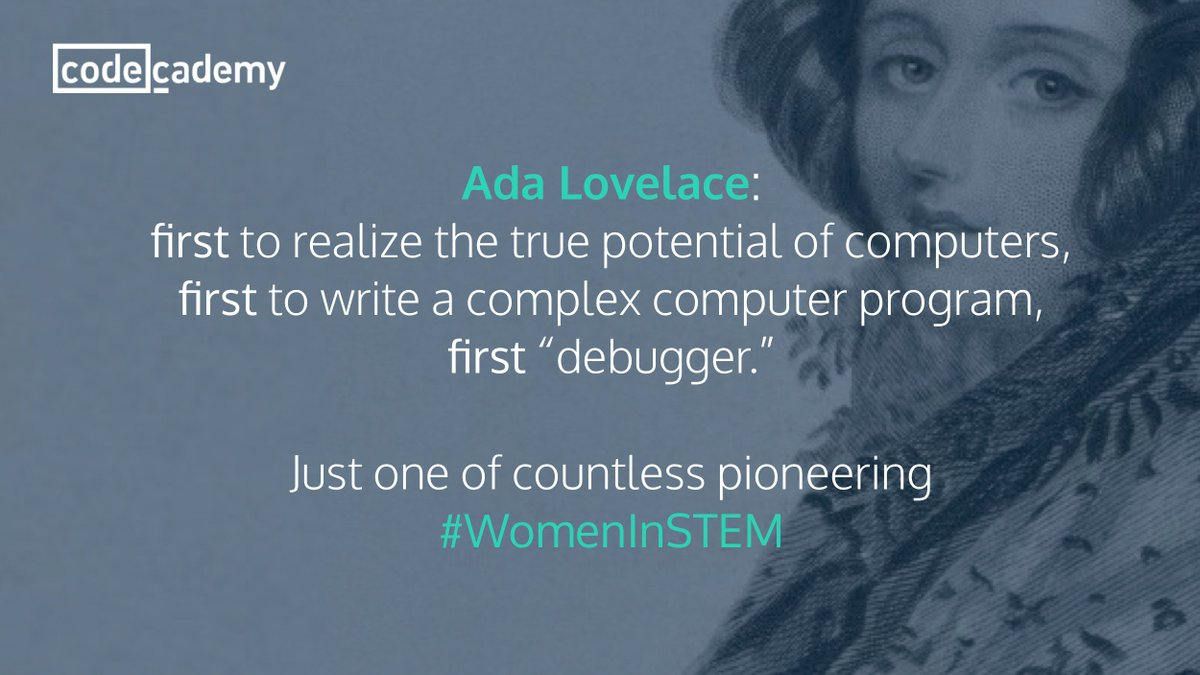 #AdaLovelaceDay-mom made her do #science-so as not to be &quot;mad, bad and dangerous to know&quot;. Like her dad #LordByron   <br>http://pic.twitter.com/gAqryhSXtq