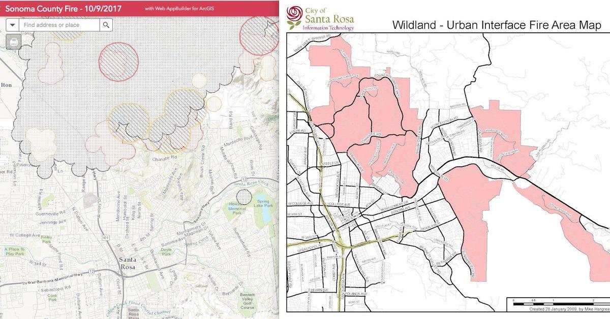 Andrew Revkin On Twitter Tubbsfire Spread Beyond 09 Wui Map