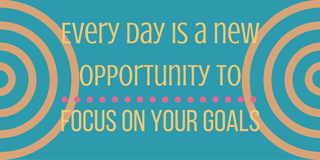 Forget yesterday&#39;s mistakes. Avoid distractions. FOCUS on your goals.  #goals #dreams #ambition #goodlife<br>http://pic.twitter.com/YPV2WRvVS9