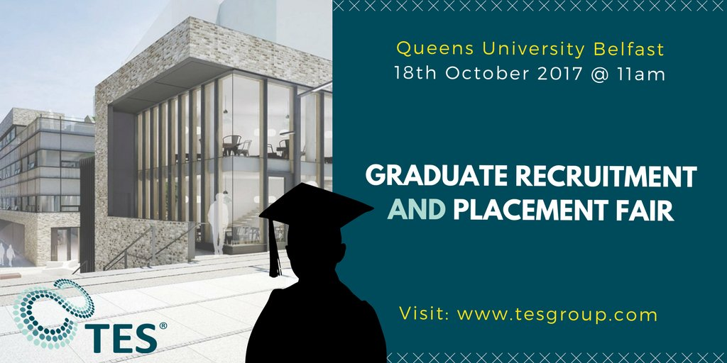 test Twitter Media - TES are very excited for the @QUBelfast Recruitment & Placement Fair on 18th October.  #11AM #ComeSayHello #QubCareers #JoinUs #TheNextStep https://t.co/G4YjXcgreJ