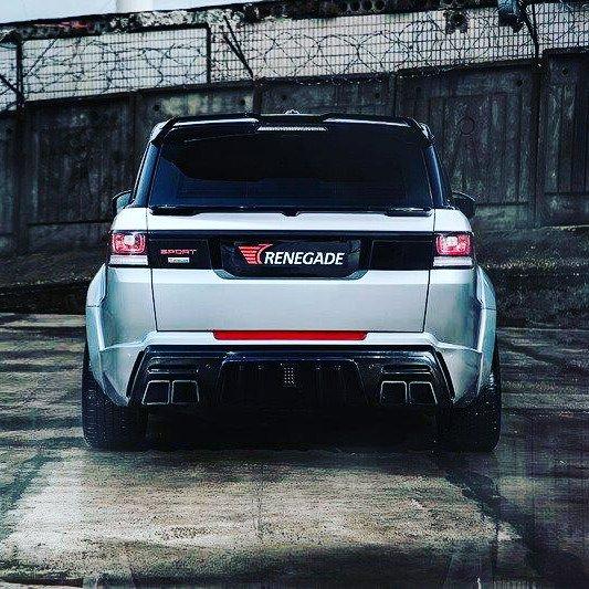 Vehicle Revolution On Twitter Renegade Range Rover Sport Body Kit
