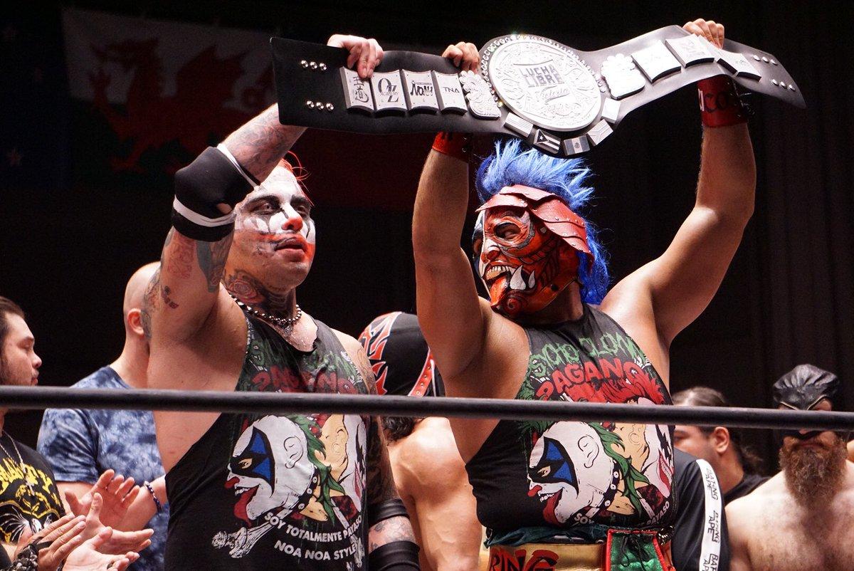 """AAA: Resultados """"Lucha Libre World Cup 2017"""" - Pagano y Psycho Clown son los vencedores 8"""