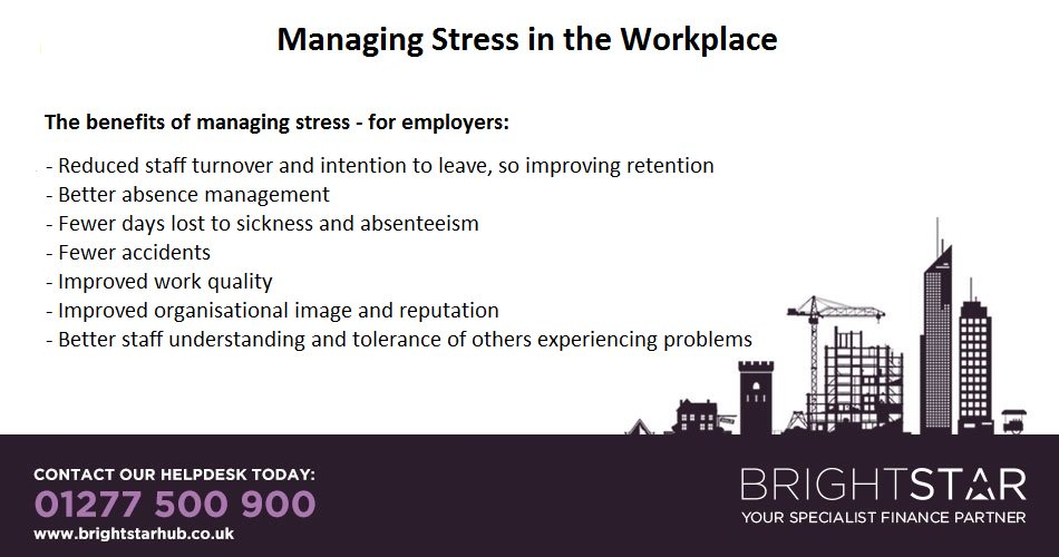 stress management within the workplace Examples of research topics at niosh within a brief introduction to work stress this booklet highlights knowledge about the causes of stress at work and.
