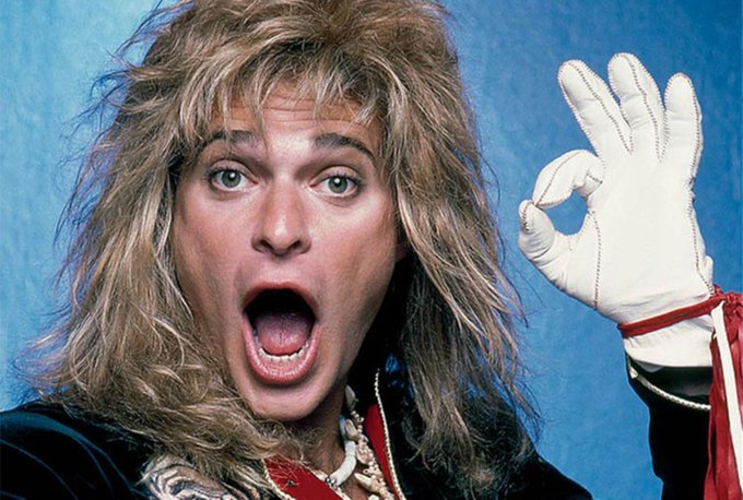 Happy birthday to lead singer, David Lee Roth!
