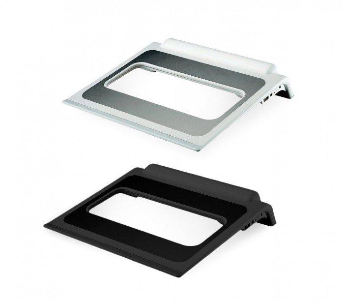4498 Mini set fotográfico 22 x 24 x 24 cm con luz led fondos blancos y negros
