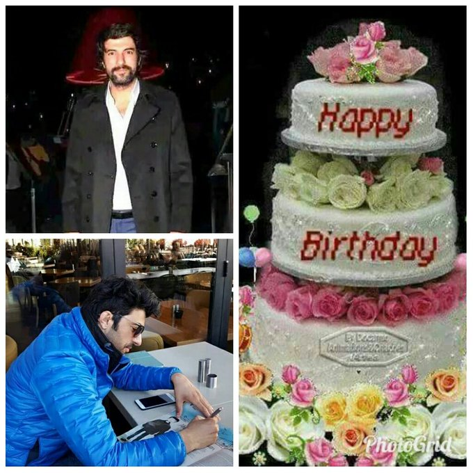 Happy birthday Engin Akyurek with you all the best