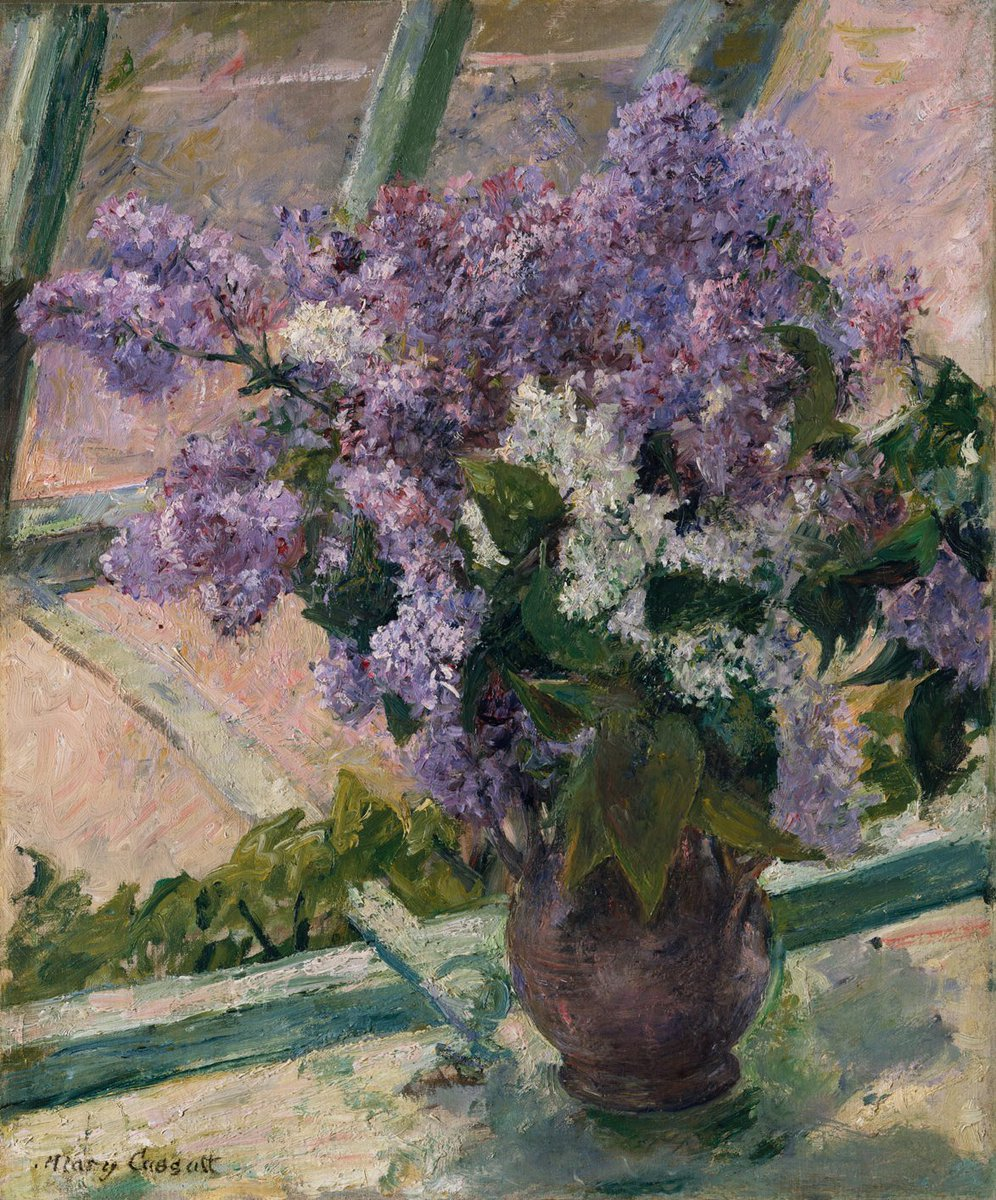 Картинки по запросу lilacs in a window (vase de lilas a l