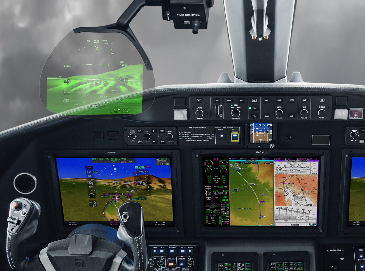 @Garmin Head-up Display (GHD) system for integrated flight decks takes flight on @Cessna #Citation Longitude  http:// bit.ly/2fXLmI2  &nbsp;  <br>http://pic.twitter.com/DCcA6bGipi