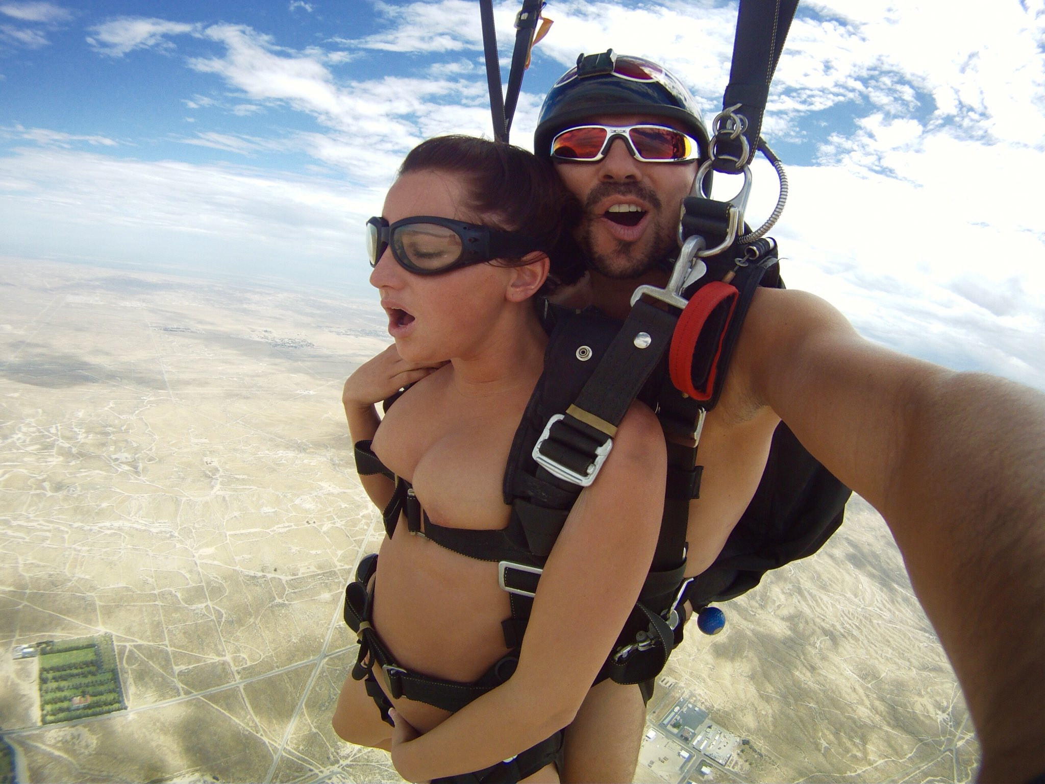 Are sex while skydiving share your