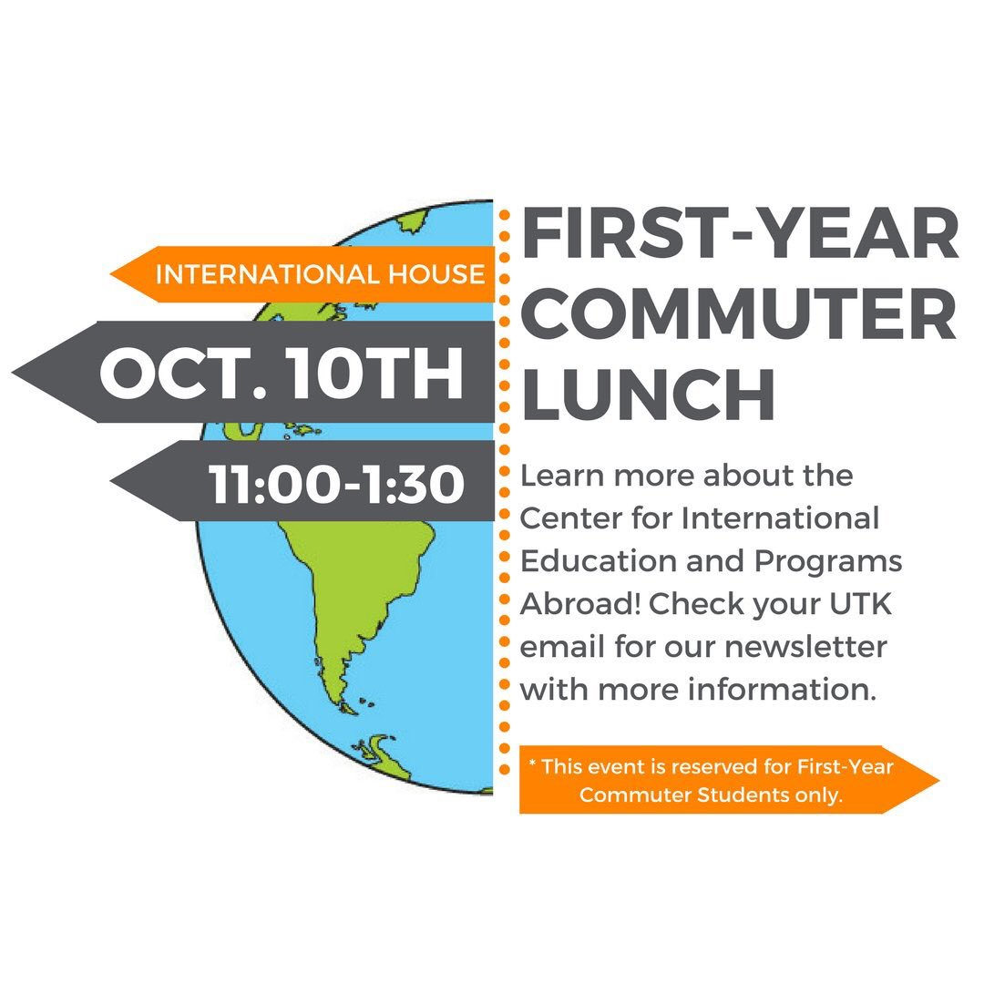 Utk Commuter Vols On Twitter Want To Learn More About Study Abroad