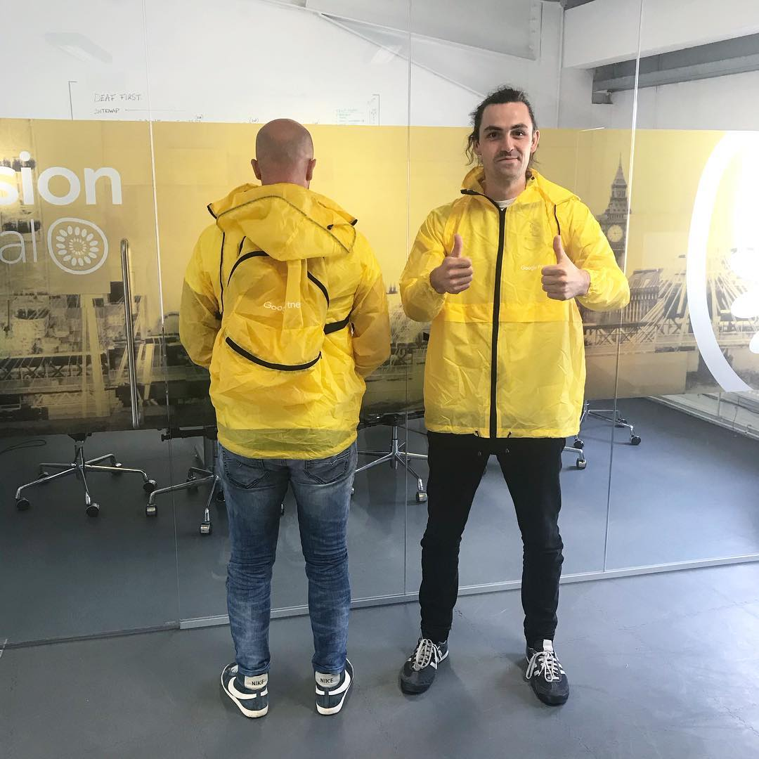 Thanks for the raincoatbackpacks @googlepartners ✌ #ppcinginstyle https://t.co/hu25JN2WE5